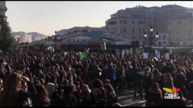 In 5 mila a Venezia per lo sciopero mondiale del clima