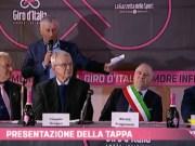 Presentazione tappa del Giro D'italia in Villa Farsetti