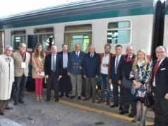A Venezia la partenza del Treno della Salute