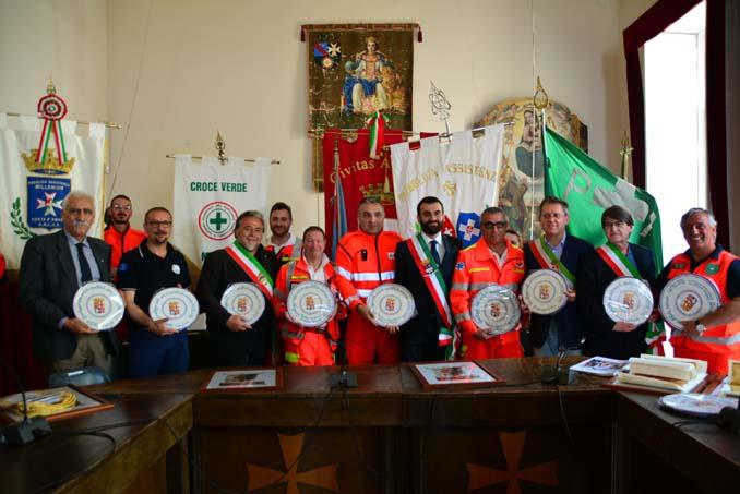 Croce Verde Mestre: Gemellaggio tra ANPAS per le Repubbliche Marinare