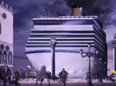 Adriano Celentano: video shock sulle grandi navi a Venezia