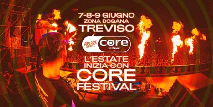 Core Festival di Treviso mappa e info utili per raggiungerlo
