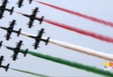 Le frecce tricolori infiammano il Salone Nautico di Venezia