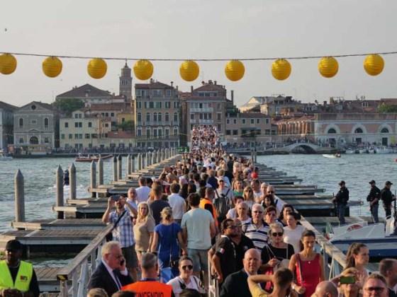 Ponte votivo Festa del Redentore 2019