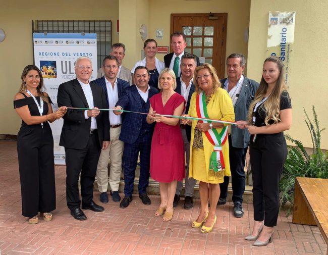 Inaugurato il nuovo distretto sociosanitario di Cavallino