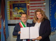 La vicepreside della repubblica di Bulgaria in vista a Jesolo