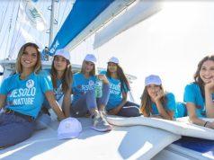 miss italia Le miss viaggiano in barca per solidarietà