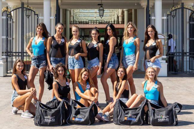 Lo sport alla finale di venerdì di Miss Italia