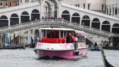 Torna a Venezia il Vaporetto rosa per la diagnosi precoce del tumore