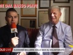 Aleandro Ballarin: dalle navi al volontariato