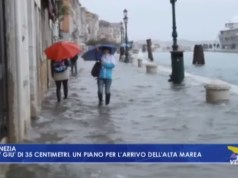 Alte maree a Venezia: via il piano di intervento