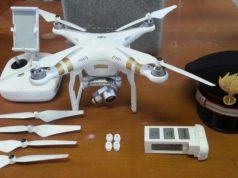 Drone non autorizzato Denunciato un inglese