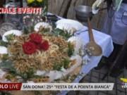Festa de a Poenta Bianca: successo a San Donà