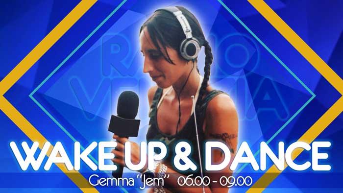 Gemma wake up dance radio venezia