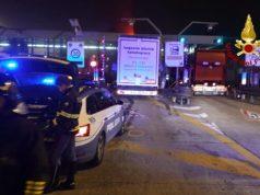 Portogruaro: camion contro il guardrail al casello autostradale - Televenezia