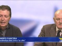 lista civica le città Roberto Pancera e Antonio Paruzzo