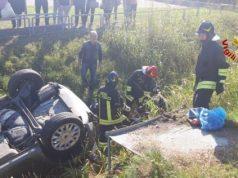 Scontro tra furgone portavalori e un'auto: ferita una donna