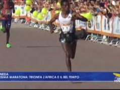 Venicemarathon 2019 trionfa l'Africa e il bel tempo