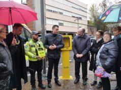 Defibrillatore posizionato in piazza Carpenedo