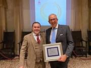 Dottor Francesco Fidanza riceve il Premio eccellenze di Portogruaro
