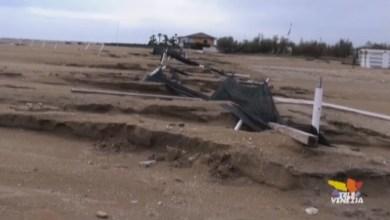 Eraclea Mare: la situazione dopo il Maltempo