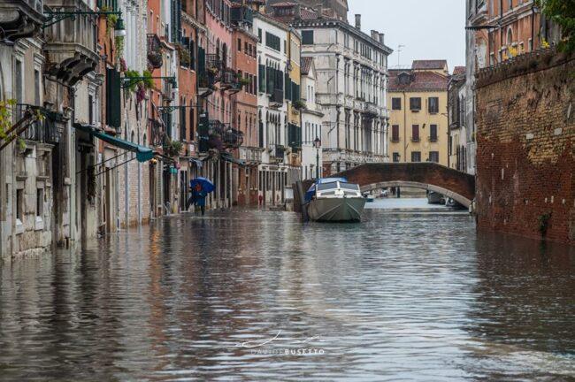 Acqua Alta a Venezia: 24 novembre raggiunti i 130 cm