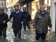 Acqua alta: sindaco Brugnaro incontra ministro Franceschini