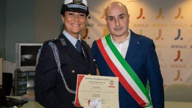 elena zanella Prima poliziotta con qualifica di istruttore di difesa personale