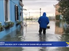 Acqua alta: 4 milioni di danni nelle abitazioni