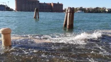 Acqua alta: questa mattina raggiunto un picco di 114 cm