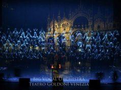 Big Vocal Orchestra interpreta la resistenza di Venezia all'acqua alta