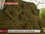 Jesolo Sand Nativity: inaugurato il presepe di sabbia 2019