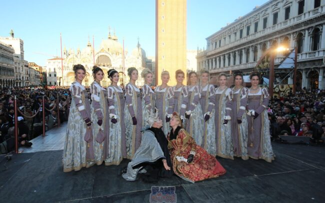 Corteo della Festa delle Marie 2020 del Carnevale di Venezia