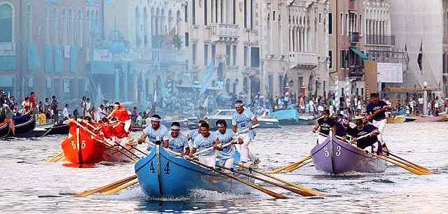 regata sprint carnevale di venezia 2020