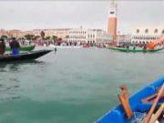 Protesta contro il moto ondoso: il video di Paolo Cuman