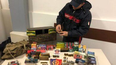 Munizioni illegali in un magazzino: denunciato imprenditore
