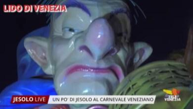 Carnevale al Lido di Venezia 2020: presente un gruppo di Jesolo