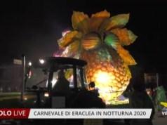 Carnevale di Eraclea in notturna 2020