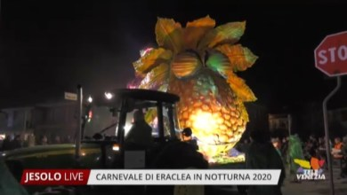 Photo of Carnevale di Eraclea in notturna 2020