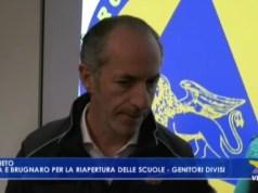 VIDEO: Coronavirus: Zaia e brugnaro per la riapertura delle scuole. Genitori divisi - Televenezia