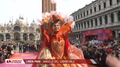 Photo of DIRETTA Volo dell'Angelo del Carnevale di Venezia 2020