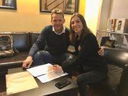 Loredana Errore e Marco Rossi CEO di Azzurra Music