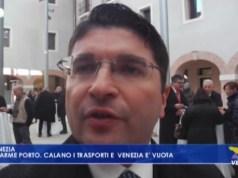 """VIDEO: Pino Musolino: """"Il Porto sta cominciando a soffrire"""" - Televenezia"""