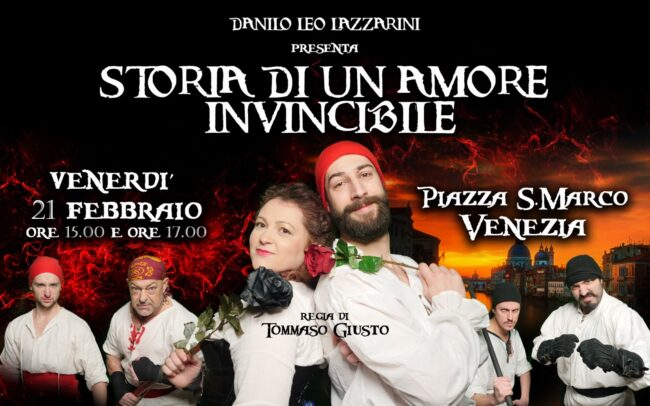 Storia di un amore invincibile: oltre 40 comparse in Piazza San Marco