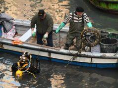 Gondolieri sub raccolgono oltre 4 tonnellate di rifiuti