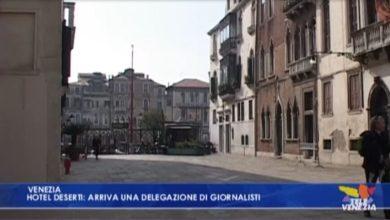 Coronavirus, hotel deserti a Venezia: arriva una delegazione di giornalisti