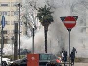 Principio d'incendio in Corso del Popolo: auto in fiamme