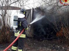 Legnaia in fiamme a San Michele al Tagliamento - Televenezia