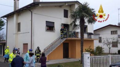 Photo of Portogruaro, incendio in casa: feriti due anziani