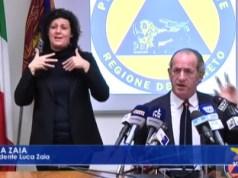 Zaia chiede maggiore denaro dal governo